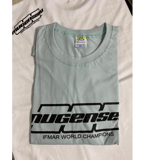 CM21 Camiseta Mugen Azul Claro  M