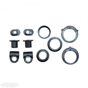 MUGT2124-C Lower Arm Mount Bushings/Shims: MTX7