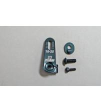 MUGB0552 Adj Servo Horn Aluminio 23T